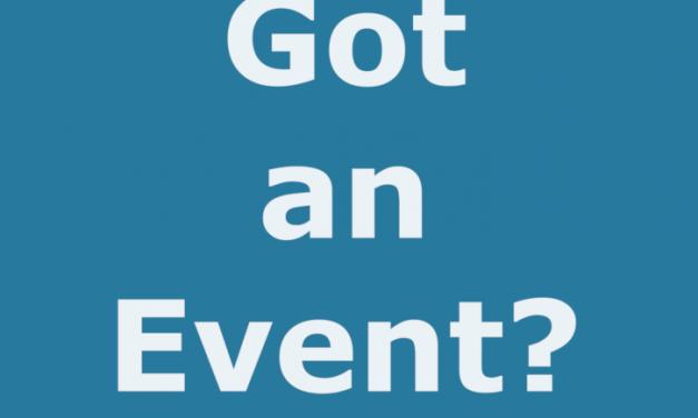 Got An Event?