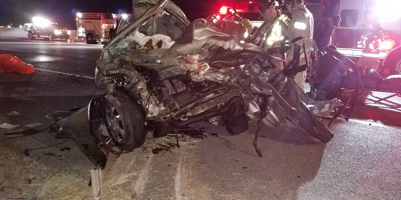 UHP identifies 3 people killed in wrong-way crash on I-15