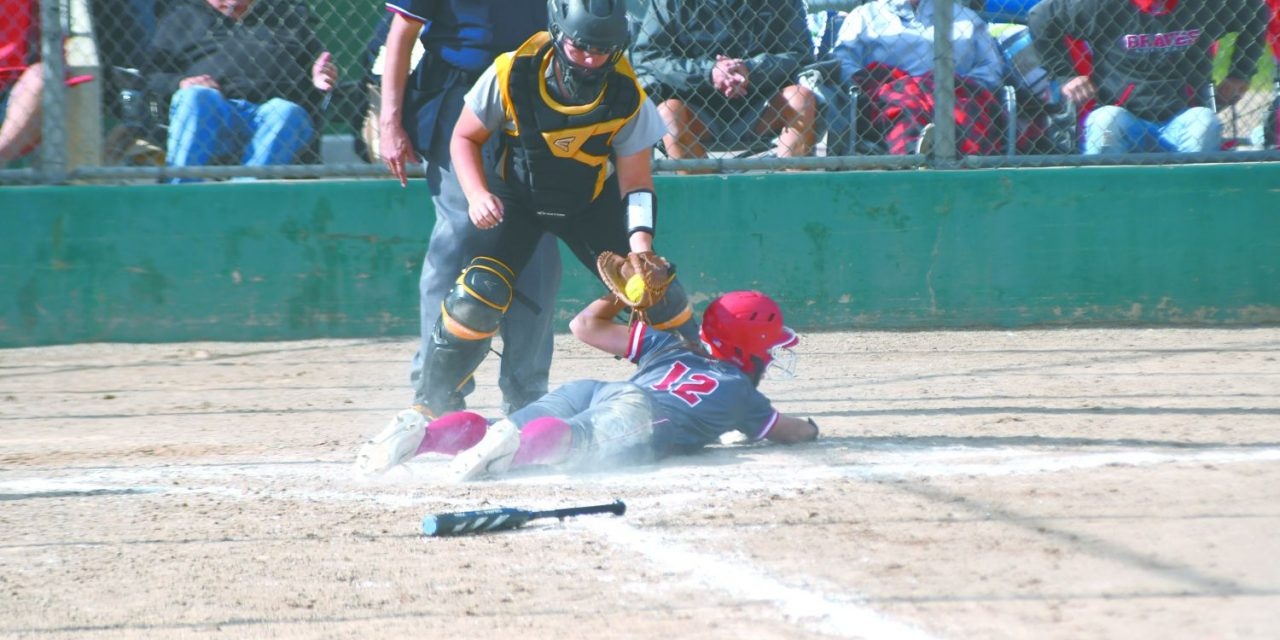 Lady Braves softball finishes second in state