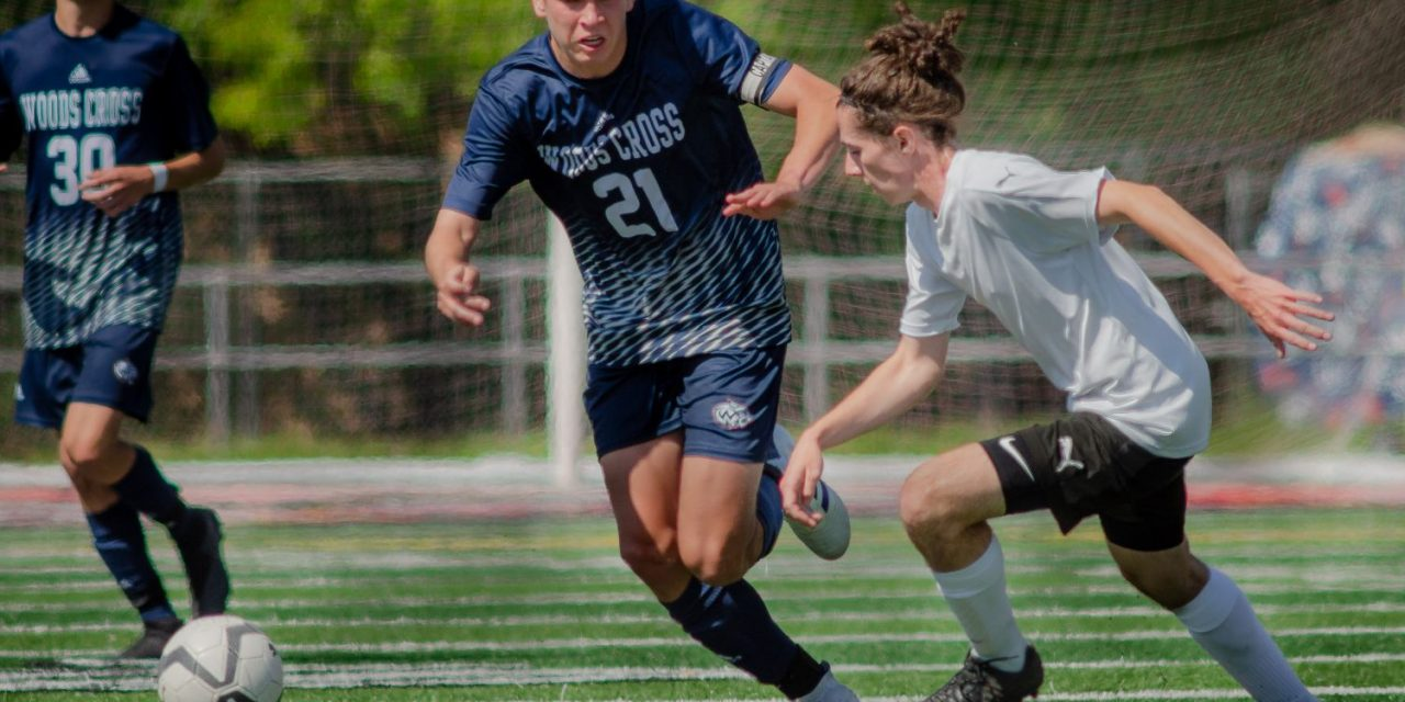 Woods Cross wins to reach state boys soccer tourney