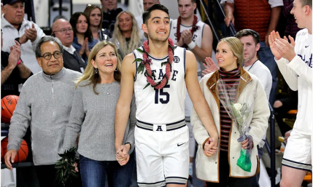 How 'cold, tough mission' helped Utah State's Abel Porter become stronger person and basketball player