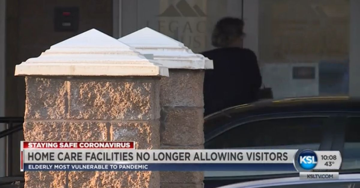 Care Centers Restricting Visitors To Protect Utah's Elderly From COVID-19