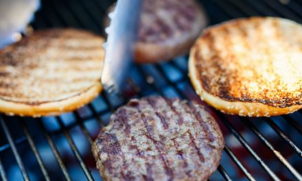 Utah Beef Council and American Heart Assoc. heart healthy recipes: Mushroom, Onion and Blue Cheese Burgers